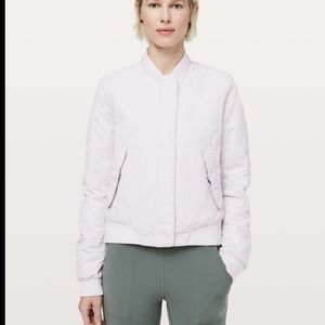 Lululemon Bomber jacket warm two ways